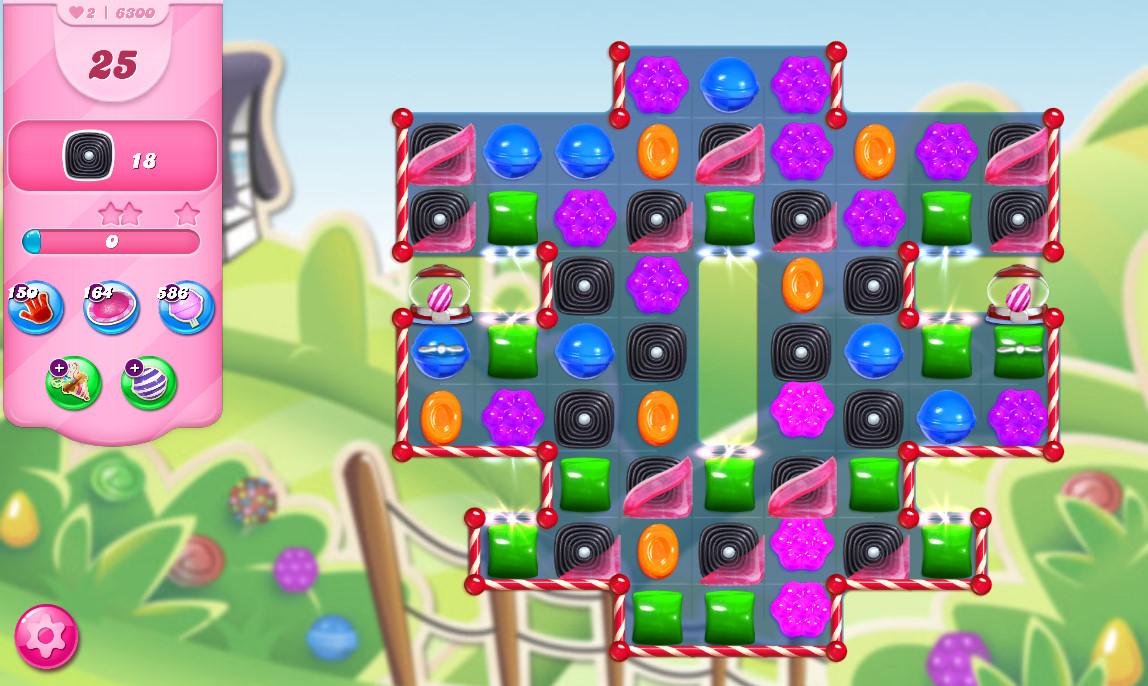 Candy Crush Saga level 6300
