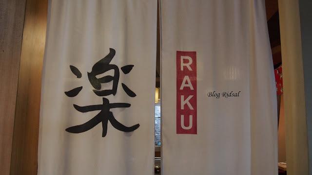Raku Sushi, Kuliner Jepang dan Medan #03
