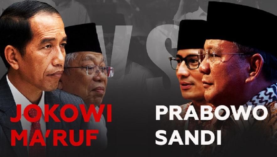 Jokowi-Maruf vs Prabowo-Sandi