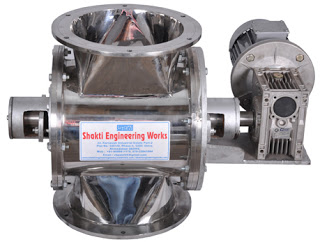 Rotary Airlocks Valve - Material CI, FC, Aluminum, MS, Stainless steel