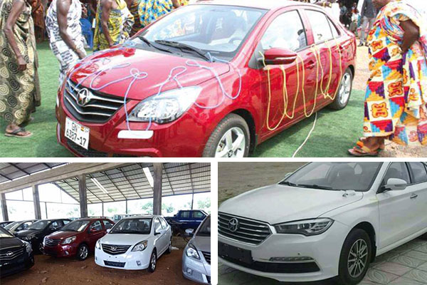 BREAKING: Locally made Kantanka Saloon Cars finally out ...