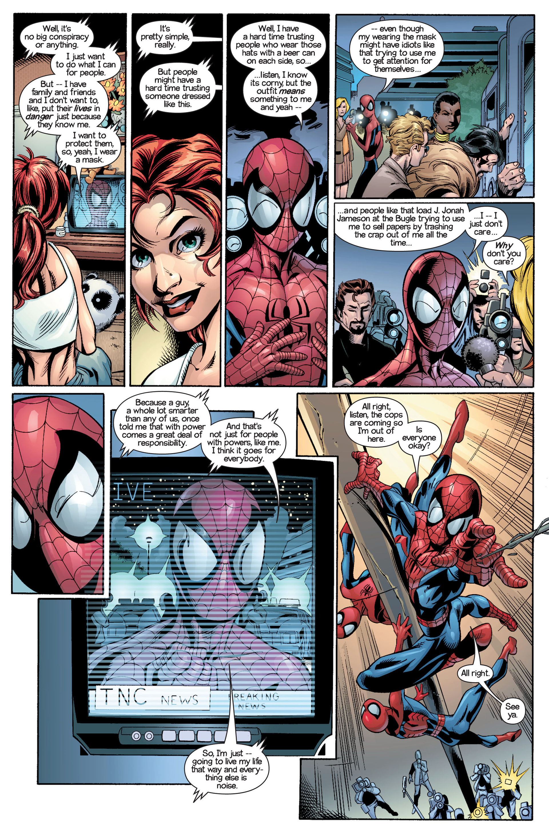 Read online Ultimate Spider-Man (2000) comic -  Issue #21 - 9