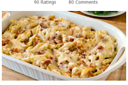 Recipe - Chicken Bacon Ranch Baked Penne