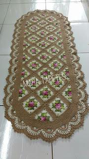 Square tapete