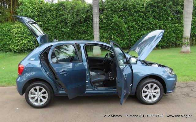 Novo VW Gol 2017 Comfortline - interior
