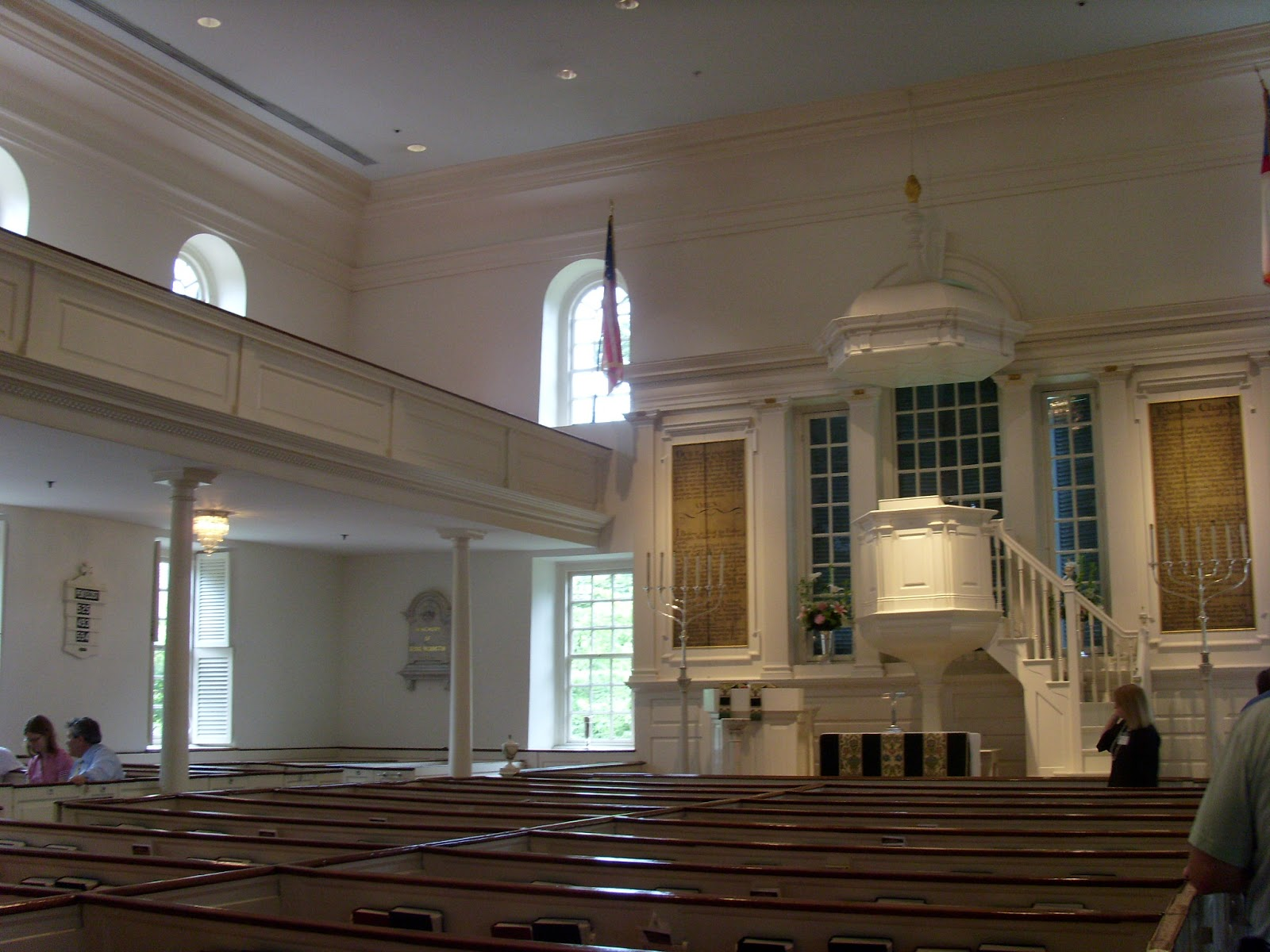 Historic Landmarks In Old Town Alexandria Christ Church