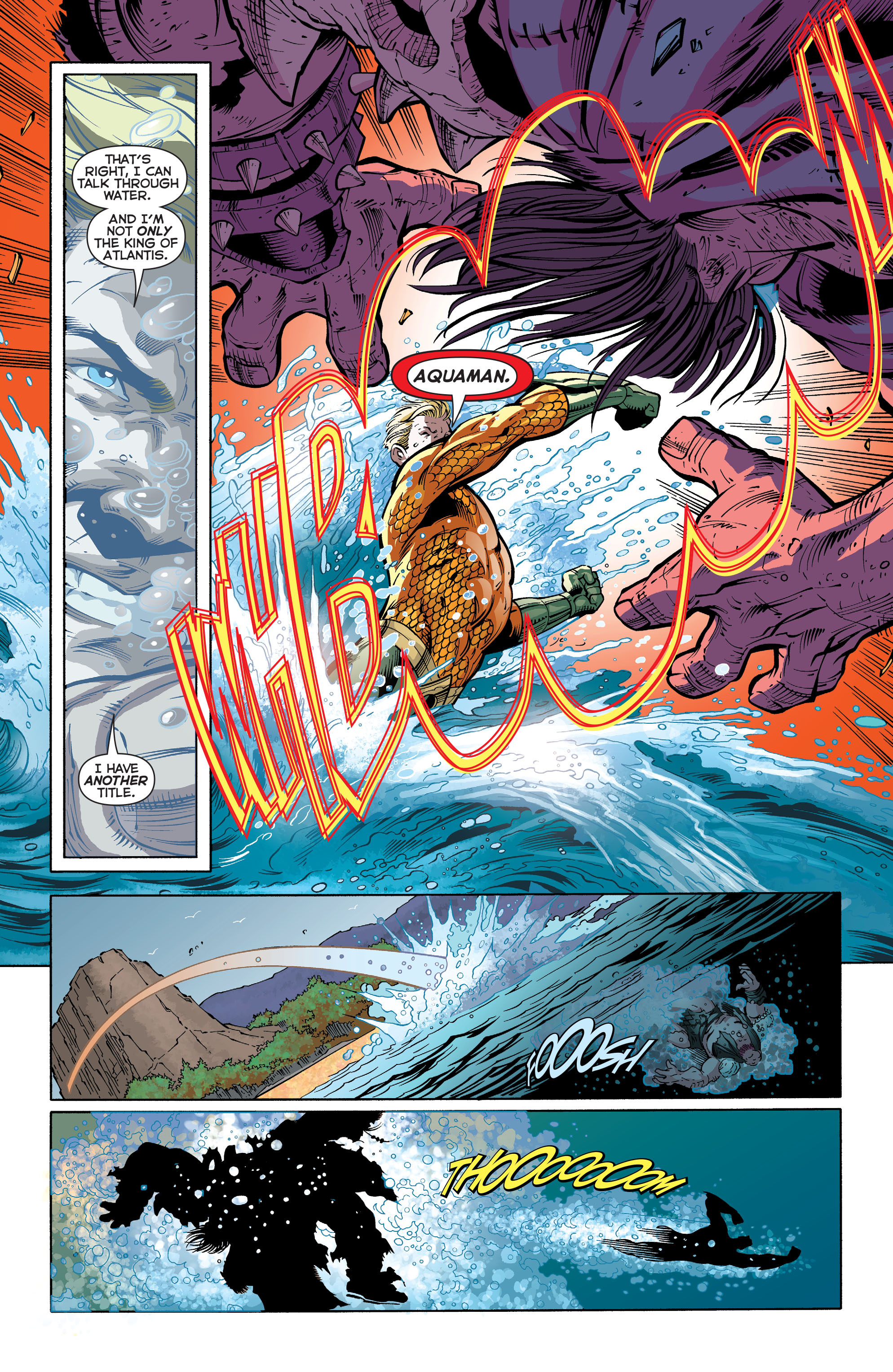 Read online Aquaman (2011) comic -  Issue #30 - 15