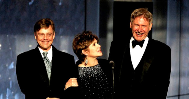 Star Wars: Episode VII distributia originala - Mark Hamill, Carrie Fisher, Harrison Ford