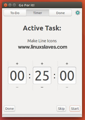 To Do List Application For Ubuntu With Timer