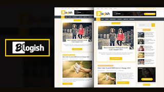 blogish blogger template responsive