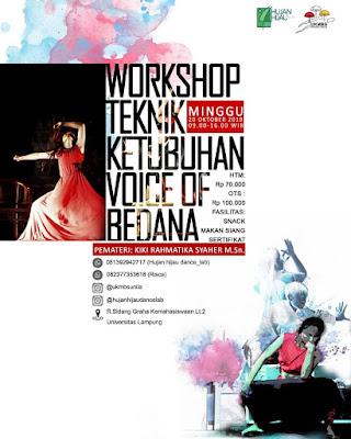 Workshop Teknik Ketubuhan Voice of Bedana