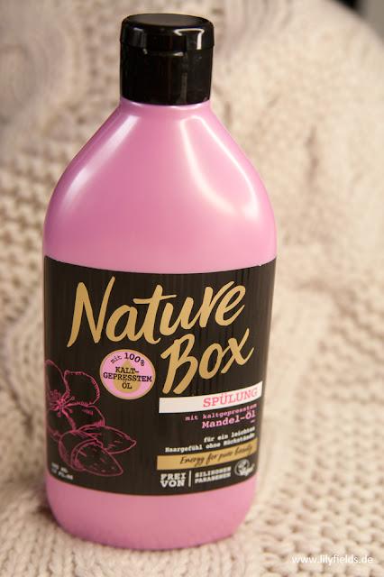 Nature Box - Spülung mit kaltgepressten Mandel-Öl