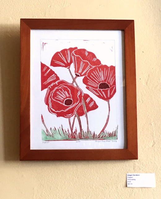 Spring Art Show at Coffee Shop