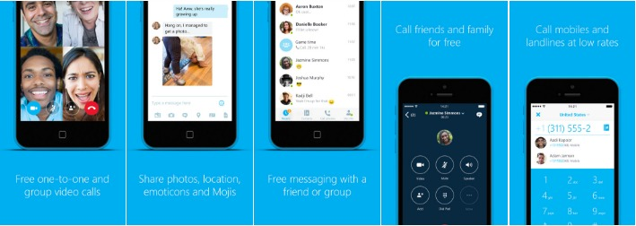 apple apps skype for iphone