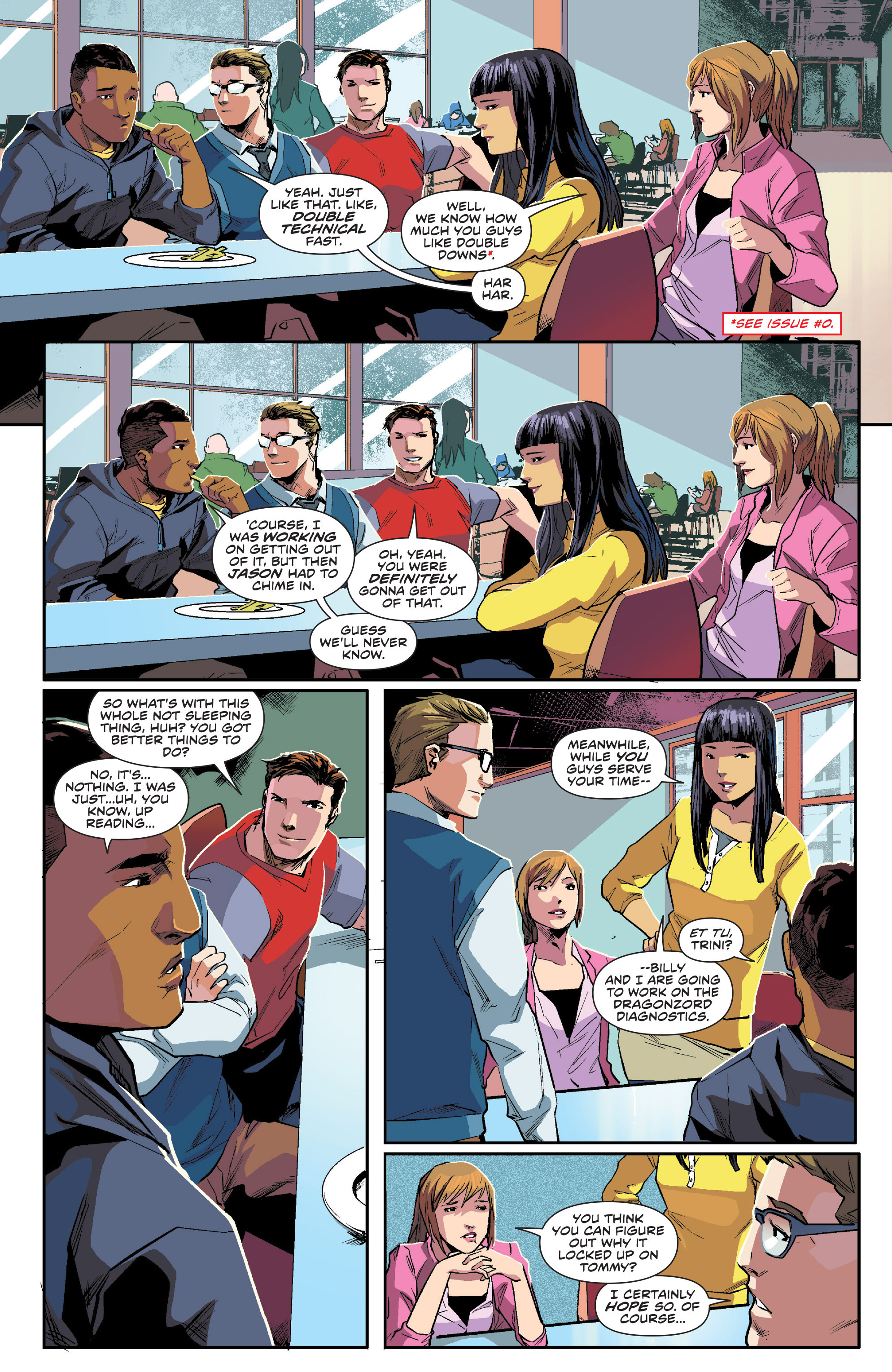Read online Mighty Morphin Power Rangers comic -  Issue #1 - 11