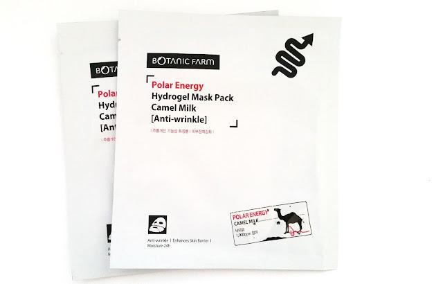 Botanic Farm Polar Energy Hydrogel Mask Pack: Camel Milk