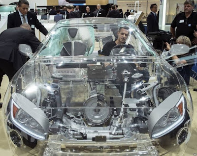 See The World First Transparent Car Launched in Germany