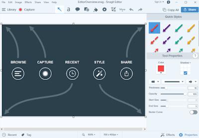 تحميل برنامج سناجيت كامل لتصوير سطح المكتب أحدث إصدار | Techsmith Snagit 2018 Full 1.PNG