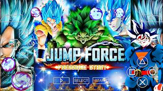 SAIU!! DRAGON BALL Z TENKAICHI TAG TEAM MOD JUMP FORCE - BT3 Para ANDROID / PPSSPP BETA 3