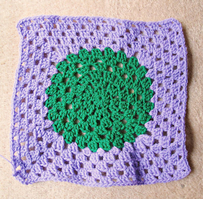 image crazy granny square circle in square crochet