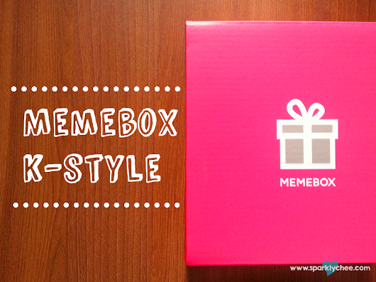 Unboxing: Memebox #17 K-Style + Swatches