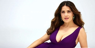 Salma Hayek Recently Stripped It All For A Magazine And The Actress Thinks That It Is Exciting To Do Topless Shoots At Her Age The  Year Old Actress