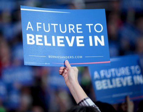 Bernie Sanders: A future to believe.