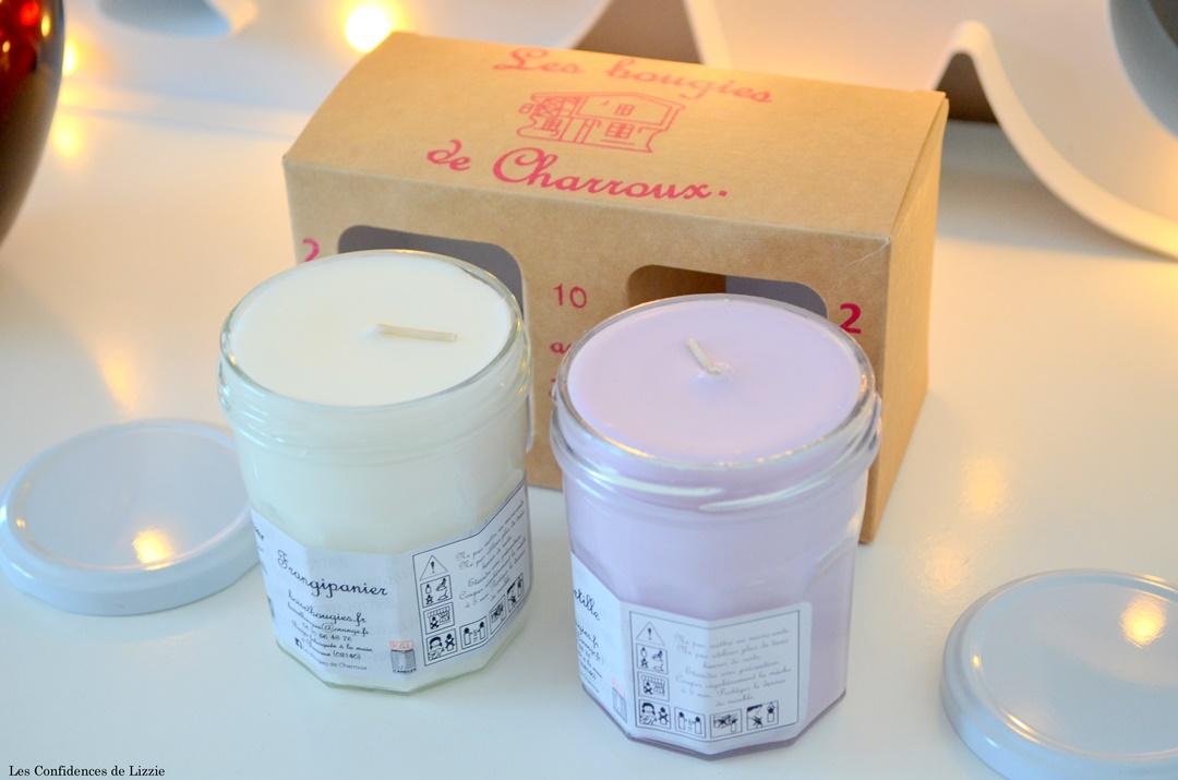 bougies - faites en france - bougies fait main - bougie artisanale - bougie de charroux - bougie myrtille - bougie frangipanier - bougie senteur sucree - bougie senteur exotique - bougie fleurie