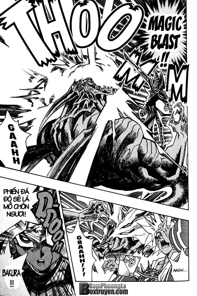 YUGI-OH! chap 314 - trận chiến với linh hồn siêu quái thú trang 18