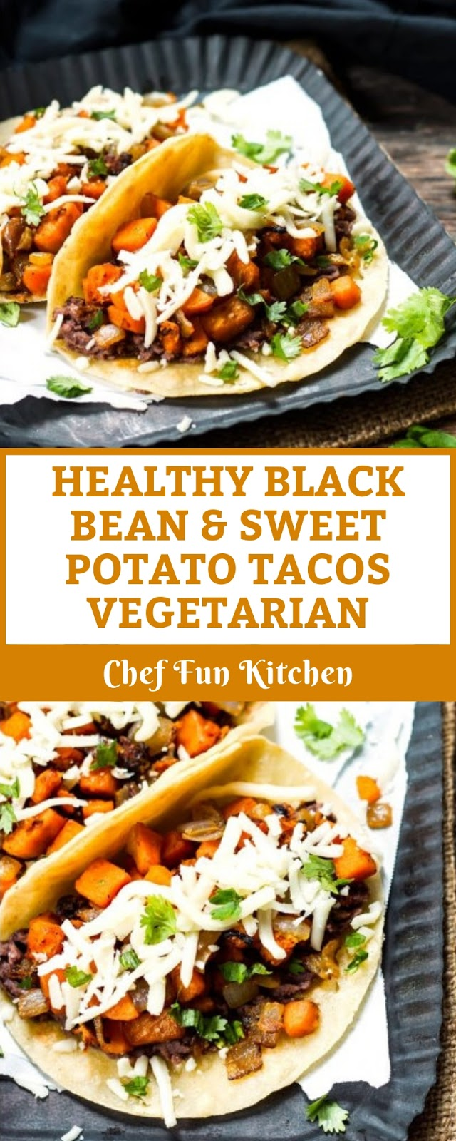 HEALTHY BLACK BEAN & SWEET POTATO TACOS | VEGETARIAN