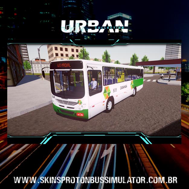 Skin Proton Bus Simulator - Torino 07 MB OF-1519 BT5 Viação Caxangá
