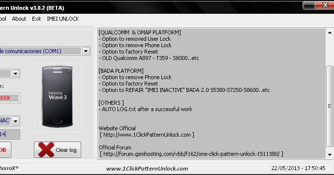 Sony e2115 pattern unlock for iphone
