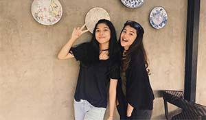 Azella Alhamid Dengan Temannya