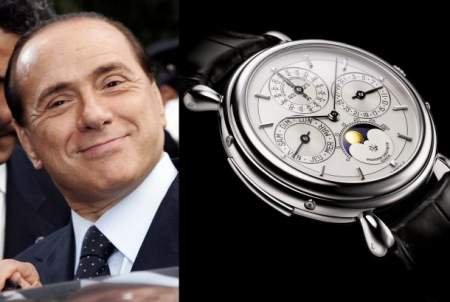 Arloji mantan Perdana Menteri Italia Silvio Berlusconi