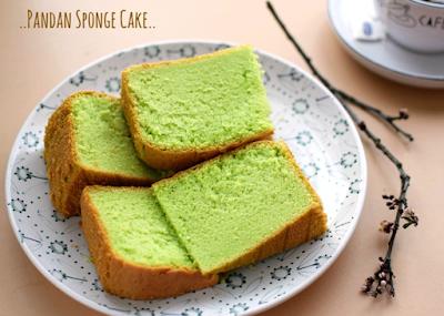 Bahan Kue Pandan Sponge Cake