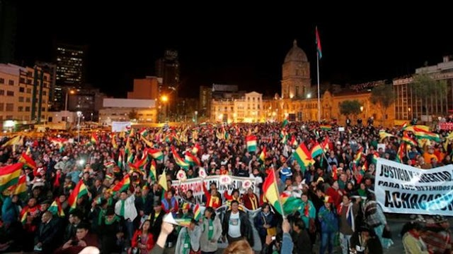Bolivians protest President Evo Morales' potential bid for fouth term
