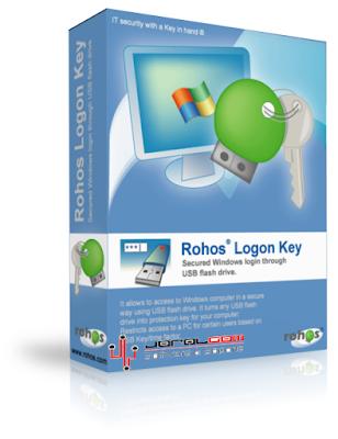 Rohos Logon Key - Controla el acceso al PC mediante USB !!