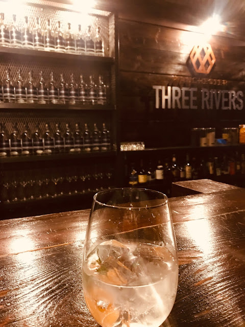 Three Rivers Gin iconic G&T