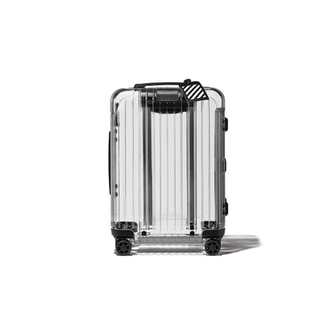 RIMOWA X OFF-WHITE suitcase