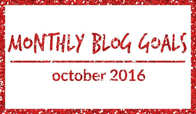 Monthly Blog Goals: October 2016 | CosmosMariners.com