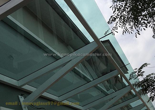 Atap Kaca Konstruksi Sender