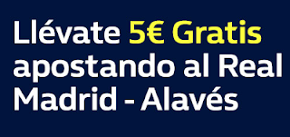 william hill promocion Real Madrid vs Alaves 24 febrero