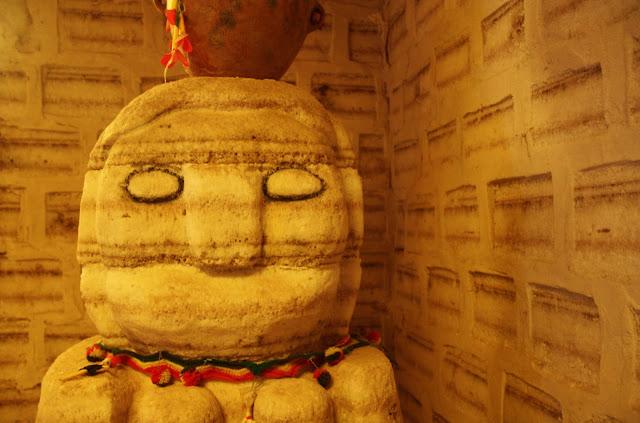Tunupa no Museu de Sal do Salar de Uyuni, na Bolívia