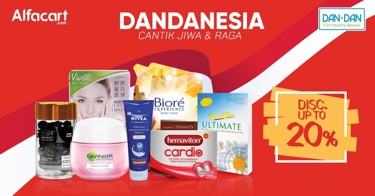 Alfamart - Promo Diskon s.d 20% produk DanDan di Alfacart