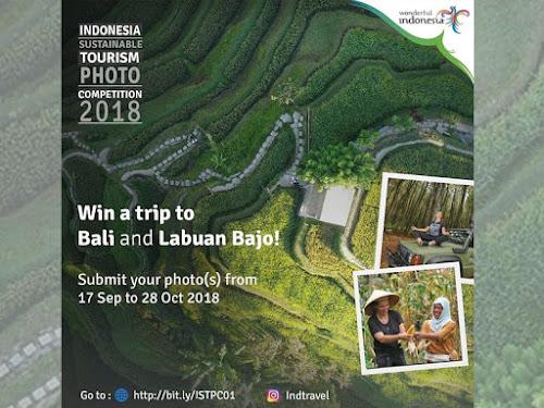 Kompetisi Foto Kemenpar 2018