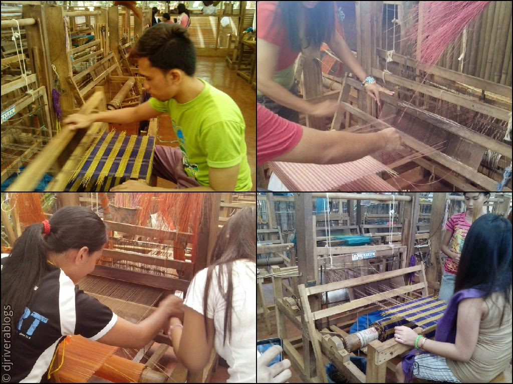 Binauatan Creations weaving