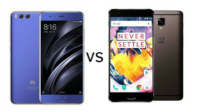 Xiaomi Mi 6 vs OnePlus 3T