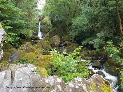 Devil's Glen Waterfall in Wicklow