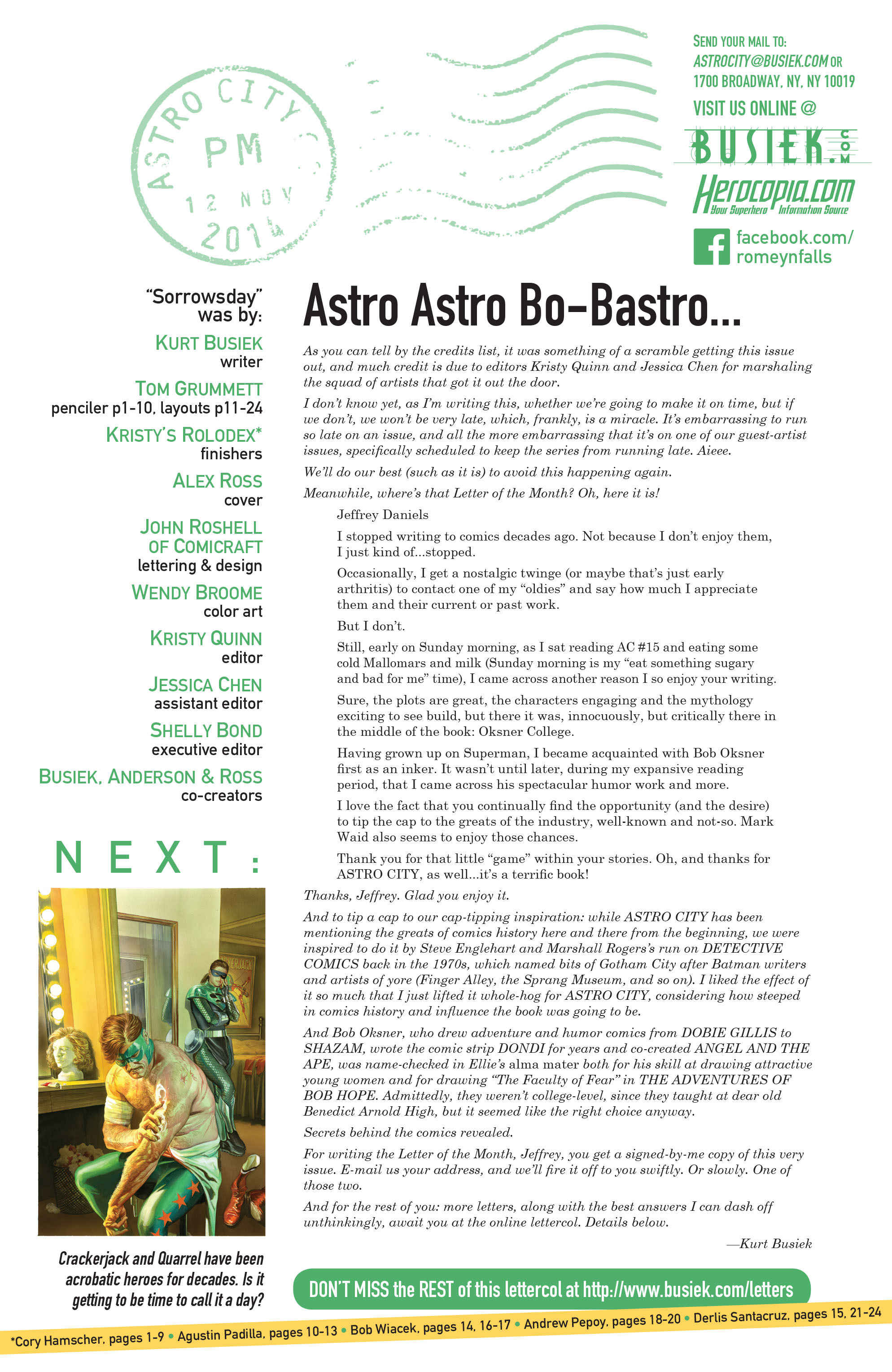 Read online Astro City comic -  Issue #17 - 25
