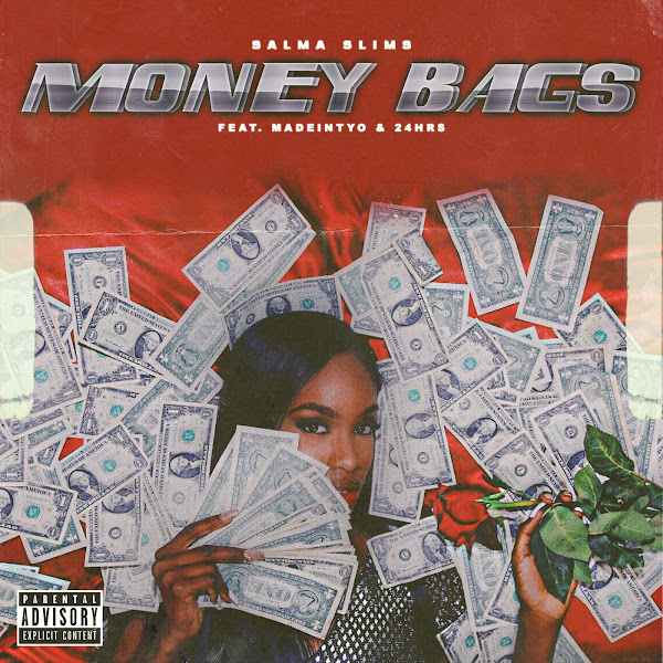 Salma Slims - Money Bags (feat. MadeinTYO & 24hrs) - Single  Cover